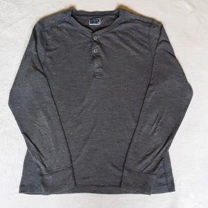J. Crew mens long sleeve 100 percent cotton